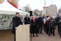 15.11.2013 - Feierliche Grundsteinlegung