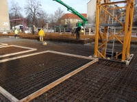 "17.12.2013 - Vorbereitung zum Betonieren Bauteil ""D"""