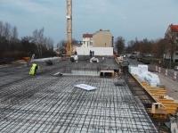"""04.03.2014 - Filigrandecke über 1.OG im Bauteil """"C"""""""