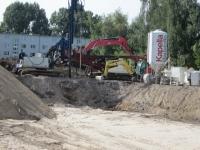 23.08.2013 - Einrichten der Baustelle für die TBV und RSV