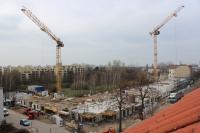 18.03.2014 - Blick über die Baustelle