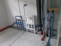 04.08.2014 - Badrohinstallation für WT, WC und Dusche