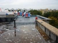 """13.10.2014 - Dach über Bauteil """"B"""""""