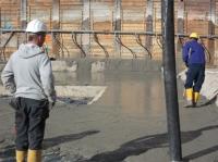"""19.10.2013 - Betonieren der Sauberkeitsschicht Bauteil """"D"""""""