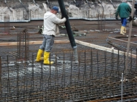 """01.11.2013 - Betonieren der Bodenplatte Bauteil """"D"""""""