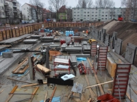 """10.12.2013 - Betonierte Bodenplatten Bauteil """"C"""" und """"D"""""""