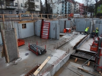 """14.01.2014 - Kellerwände im Bauteil """"C"""" und """"A"""""""