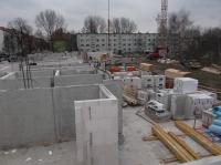 """19.02.2014 - 1.OG Mauerwerk im Bauteil """"C"""""""