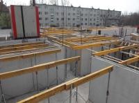 """04.03.2014 - 1.OG Wände im Bauteil """"A"""""""