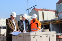 11.03.2014 - Beratung Vorstand und Bauleitung
