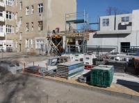 """12.03.2014 - Einschalwand und Bewehrungsarbeiten Bauteil """"D"""""""