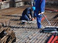 12.03.2014 - Verlegen der Abwassergrundleitungen