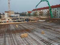 """01.04.2014 - Betonpumpe für Betongang Bauteil """"A"""""""