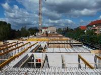 "15.04.2014 - Vorbereitung Verlegung Decke über 3.OG Bauteil ""A"""