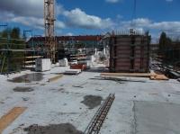 15.04.2014 - Vorbereitung Verlegung Decke über 2.OG