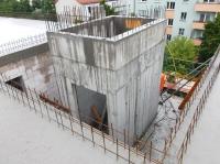 """28.05.2014 - Fahrstuhlschacht im Bauteil """"C"""""""